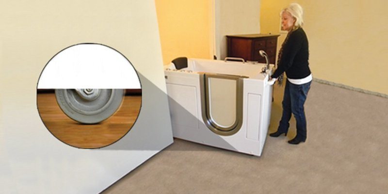 Freestanding Walk in Tubs Installation