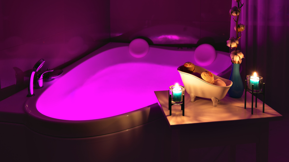 Chromotherapy in Walk-In Tubs